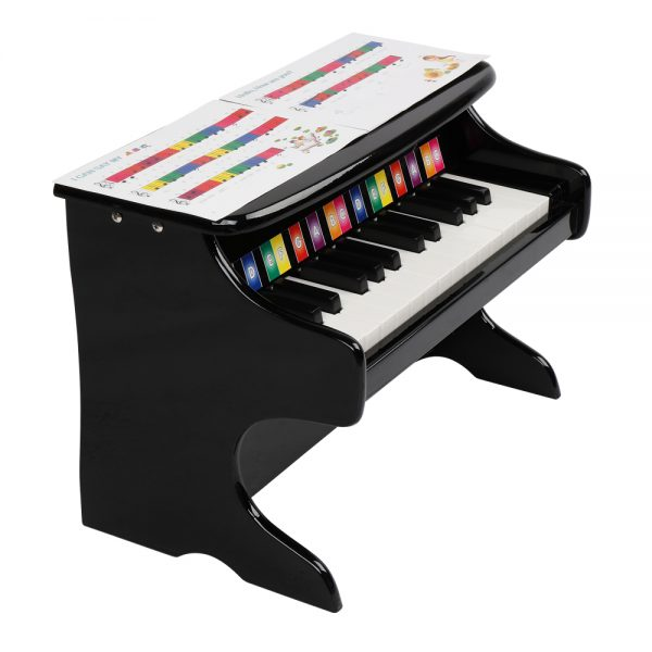 25-key Children's Wooden Piano / Vertical (without Chair) Mechanical Sound Quality