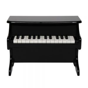 Wooden Toys: 25-key Children's Wooden Piano / Vertical (without Chair) Mechanical Sound Quality